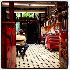 Photo taken at Modern Tattooing: Schiffmacher & Veldhoen by Yellow D. on 6/13/2014