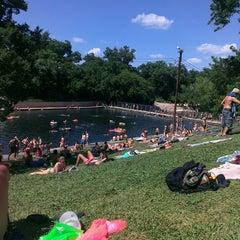 Photo taken at Barton Springs Pool by Joe M. on 6/16/2013