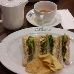 Photo taken at O'Briens Irish Sandwich Bar by Frostyspider on 4/24/2015