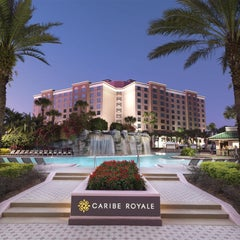 Photo taken at Caribe Royale All-Suite Hotel & Convention Center by Caribe Royale All-Suite Hotel & Convention Center on 1/21/2014