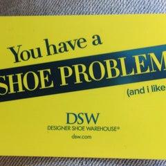 Photo taken at DSW Designer Shoe Warehouse by Steve B. on 4/14/2014