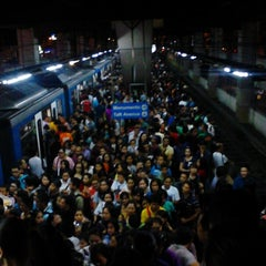 Photo taken at Yellow Line - Taft Avenue Station by Iyane E. on 10/18/2013