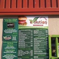 Photo taken at Evolution Fast Food by PerryTwins on 7/15/2013