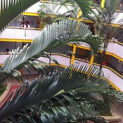 Photo taken at Pontifícia Universidade Católica de Goiás (PUC Goiás) by Caio V. on 2/1/2013