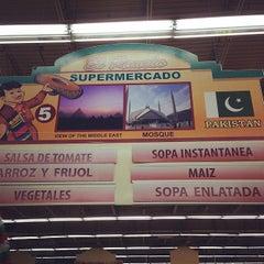 Photo taken at El Rancho Supermercado by alexis c. on 4/25/2014