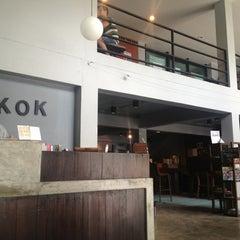Photo taken at WE Bangkok Hostel by Jad T. on 9/6/2013