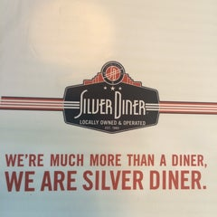 Photo taken at Silver Diner by Rose M. on 6/15/2014