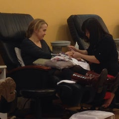 Photo taken at Sensi Luxury Nails & Spa by Walter A. on 12/5/2013