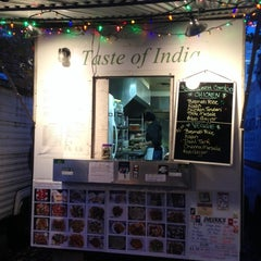 Photo taken at New Taste Of India by Nathan C. on 11/9/2013