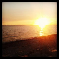 Photo taken at Crescent Beach by Paul K. on 8/10/2013