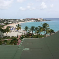 Photo taken at Sonesta Maho Beach Resort & Casino by Javier F. on 8/5/2013