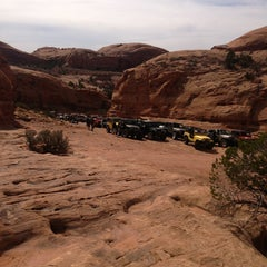 Photo taken at Poison Spider Mesa Trail by Kim T. on 3/27/2013
