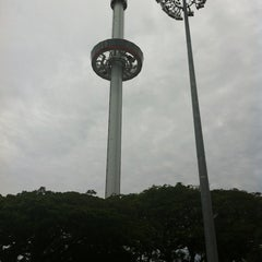 Photo taken at Menara Taming Sari by Amyr-Aryf A. on 2/10/2013