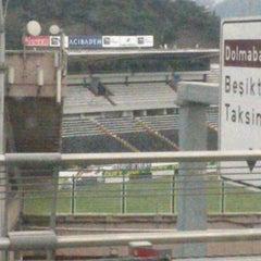 Photo taken at Beşiktaş İnönü Stadyumu Yeni Açık by Yusuf Burak Y. on 2/26/2013