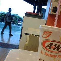 Photo taken at A&W by Batara S. on 4/22/2013