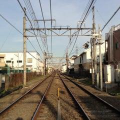 Photo taken at 柴崎駅 (Shibasaki Sta.) (KO15) by Masayoshi T. on 1/13/2013