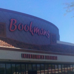 Photo taken at Bookmans by Adam B. on 3/2/2013