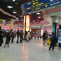 Photo taken at Bahrain International Airport (BAH) | مطار البحرين الدولي by Maha M. on 2/13/2013