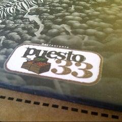Photo taken at Puesto 33 by Fernando Z. on 11/4/2012