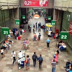 Photo taken at Terminal Rodoviário Tietê by Marcos V. #. on 1/19/2013