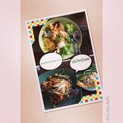 Photo taken at สวนอาหารซุ้มไผ่ (Sum Phai Restaurant) by Jamekorn T. on 8/2/2014