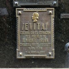 Photo taken at Eva Peron's Grave by Mark W. on 2/18/2013