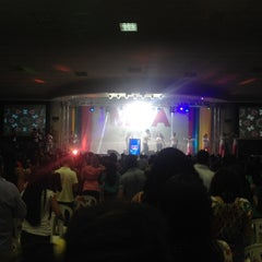 Photo taken at Igreja da Paz by Karen R. on 8/2/2014