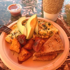 Photo taken at Nature's Health Food & Cafe by Morgan N. on 6/8/2014