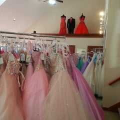 Photo taken at Elaines House Of Brides by Madalyn P. on 2/9/2014