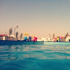 Photo taken at Blue Beach Resorts || شاليهات الشاطئ الأزرق by Ahmad A. on 5/10/2013