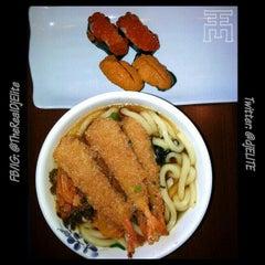 Photo taken at Ninja Sushi by DJ ELITE on 4/10/2013