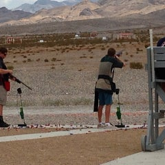 Photo taken at Clark County Shooting Park by Mariann E. on 7/12/2013