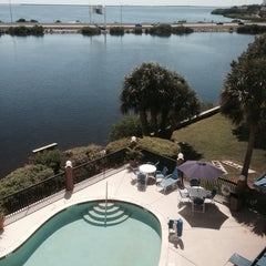 Photo taken at Holiday Inn Express & Suites Tampa/Rocky Point Island by Carlos C. on 9/30/2013
