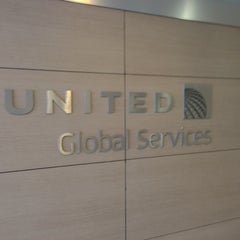 Photo taken at United Airlines Global Reception by Robbi H. on 8/26/2013