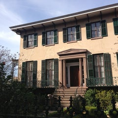 Photo taken at Andrew Low House Museum by Da W. on 1/21/2013
