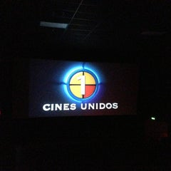 Photo taken at Cines Unidos by Víctor A. on 8/22/2013