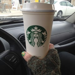 Photo taken at Starbucks by Cassidy B. on 1/21/2013