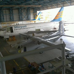 Photo taken at Merpati Maintenance Facility by Bildad P. on 7/5/2013