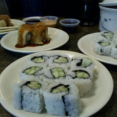 Photo taken at Sushi Q by Alanna G. on 2/19/2013