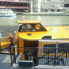 Photo taken at Chicago Water Taxi (Michigan) by Angelina S. on 5/5/2013