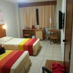 Photo taken at Praia Centro Hotel Fortaleza by Bruno E. on 5/6/2013