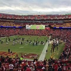 Photo taken at FedEx Field by David H. on 1/6/2013