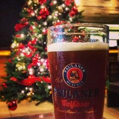 Photo taken at Brotzeit German Bier Bar & Restaurant by Oswald P. on 12/26/2012