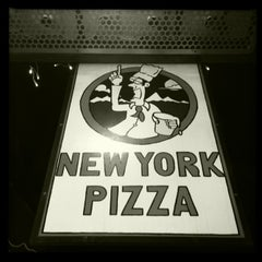 Photo taken at New York Pizza by Andy B. on 2/17/2013