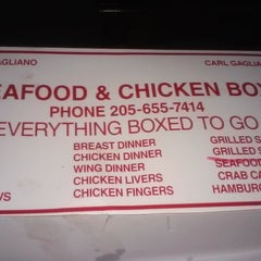 Photo taken at Seafood & Chicken Box by Santana C. on 10/12/2014