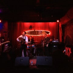 Photo taken at Continental Club by Ben B. on 11/17/2012