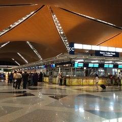 Photo taken at Kuala Lumpur International Airport (KUL) by Mona on 10/22/2013