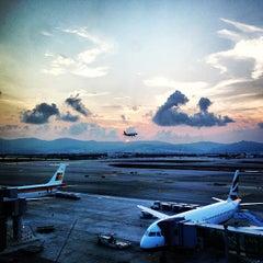 Photo taken at Aeroport de Barcelona-El Prat (BCN) by Harry B. on 7/19/2013