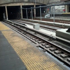 Photo taken at MTA Subway - 4th Ave/9th St (F/G/R) by Matt W. on 3/17/2013