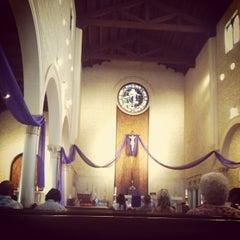 Photo taken at Saint Joseph Cathedral by Josielyn on 3/17/2014